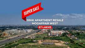 3bhk Apartment Resale Mogappair West