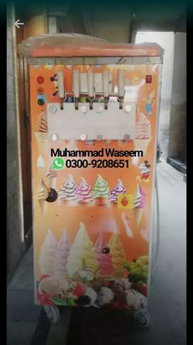 Double Flavour Icecream Machine