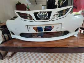 Etios liva front bumper and grill