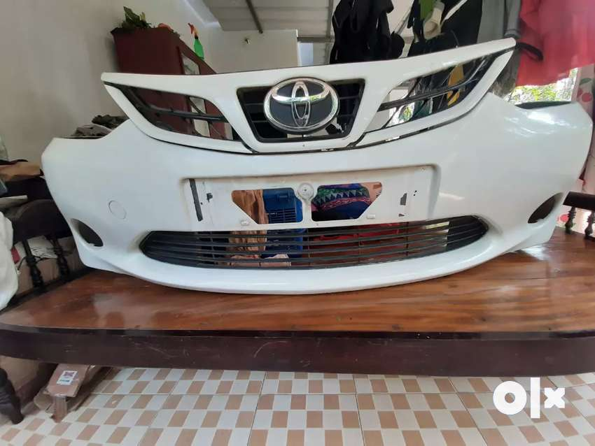 Etios liva front bumper and grill 0