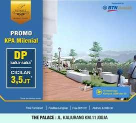 DP 0% Utk Riau,Miliki Apartemen diKawasan Kampus&Wisata,The Palace