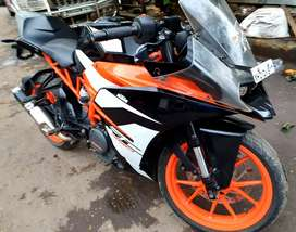 KTM RC 390 purchase date 25th aug 2017..all papers cleared