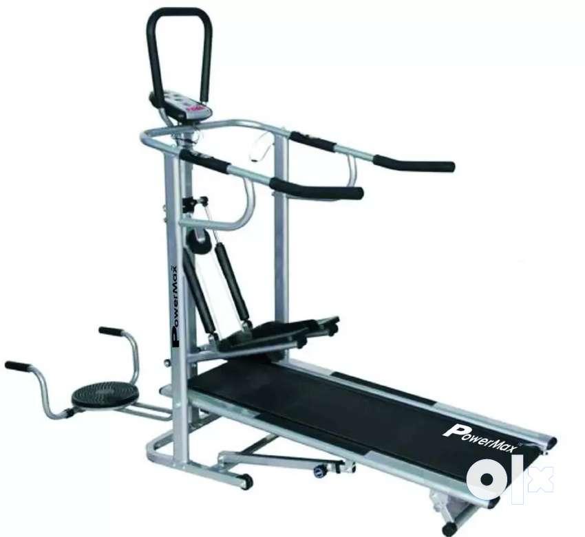 Power Max Fitness MFT 410 manual