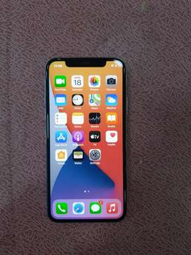 Iphone X(64GB){[Full kit box available]}