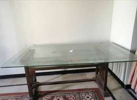 Dining table is available for sale