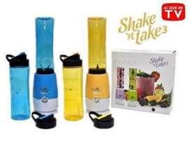 Blender shake and take