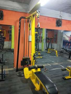 All kinds of equipments are available, with good condition.