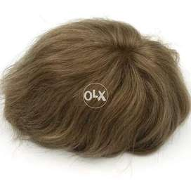 Remy Hair Toupee for Men or Wig Units
