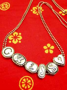 Guess necklace silver