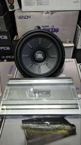 Power Pca 4 chanel + Subwoofer Jbl 12 inc
