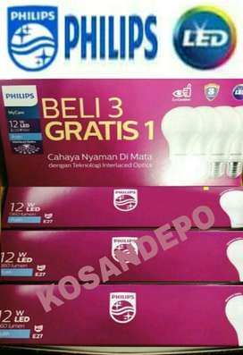 Philips LED My Care 12 WATT Putih Multipack(4Pcs) - Garansi 3 Tahun