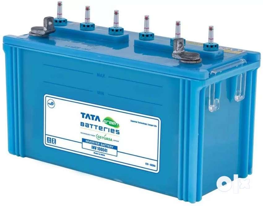 TATA GREEN BATTERIES INVERTER 100Ah 0