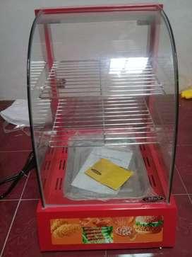 Display warmer/etalase pemanas fried chicken