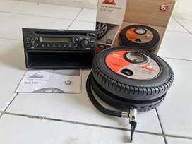 cd player asli &  compressor (pengisi angin ban portable)mobil kecil.