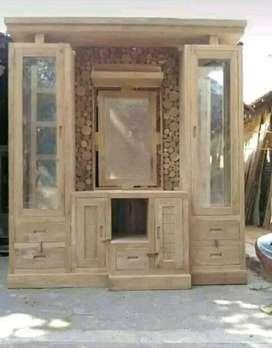 Penyekat ruangan bahan kayu jati