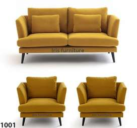 Keleny Sofa Set (5 Seater) By Iris Furniture.