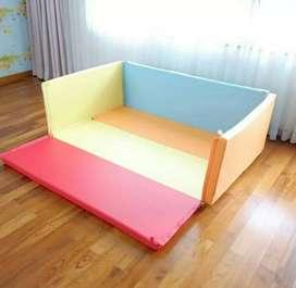 Kimo playmat - pagar pengaman bayi - matras bermain bayi super aman