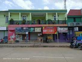 DIJUAL RUKO BANGUNAN BARU PAS DEPAN STADION