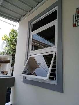 Jendela dan pintu almunium