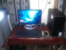 core I3 full computer with 4 games
