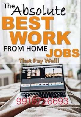 Part time Full time Offering home based job  Jobs » Online
