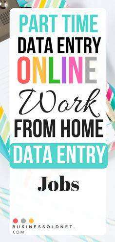 Part Time/Full Time job - WORK AT HOME (DATA ENTRY/SIMPLE TYPING WORK)
