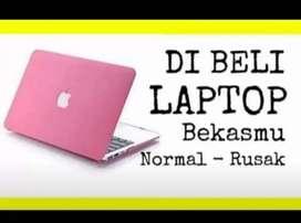 Dibeli laptop Notebook MacBook bekas rusak, eror dll