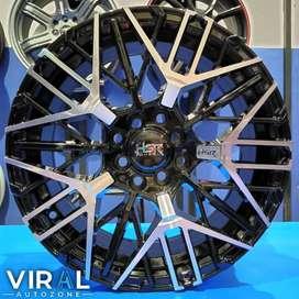 Velg Racing Terbaru Hsr R16 Lubang 4 Pelak Mobil Yaris Brio Sigra HSR