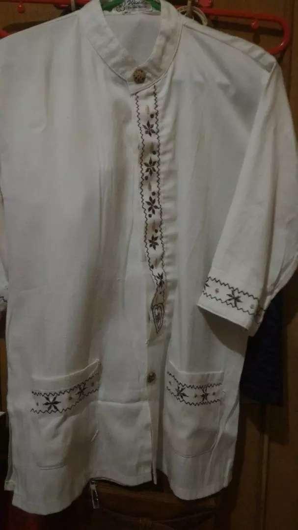 Baju koko anak warna broken white