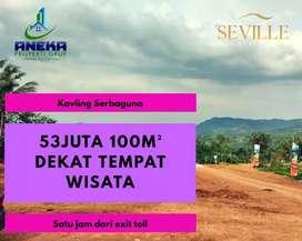 Jual Tanah Nempel Jalan Utama Sukamakmur Bogor