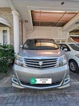 Toyota Alphard 2008 2,4L kondisi istimewa pajak ON