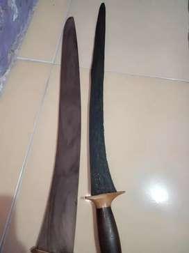 Pedang suduk maru sepuh mataram