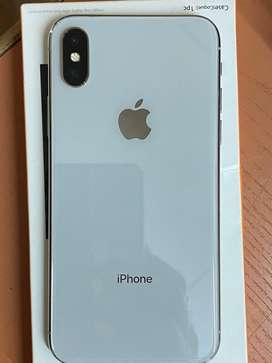iPhone X 64Gb white 100% condition with Warranty