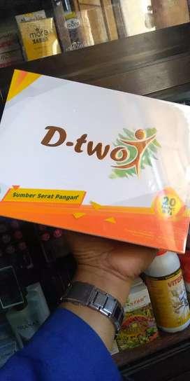 D-TWO (Herbal pelangsing) Original NASA