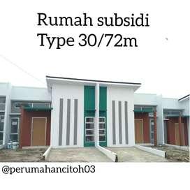 Rumah subsidi murah CITOH type 30/72