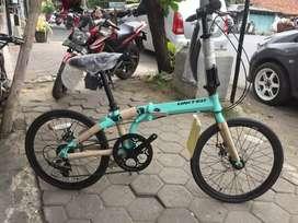 Sepeda gunung dan lipat