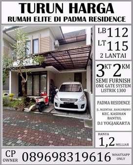 Turun harga !! Rumah mewah Padma residence