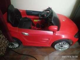 Kids remote control ride-on car