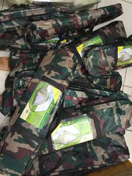 tenda camping kemping dome army single layer muat 4 orang (jantung acc