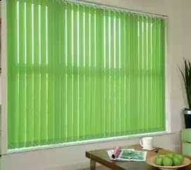 Vertical Blind and Curtains