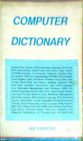 Computer Dictionary       MRP- ₹35  Selling Price- ₹10