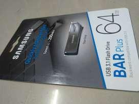 Samsung Bar Plus 64GB flash drive(BRAND NEW)