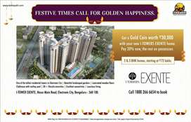 2 BHK Apartment for Sale-Kolte Patil I Towers Exente, Electronic City1
