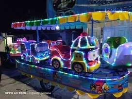 Pancingan elektrik bebek bundar NS odong kereta panggung robocar