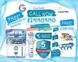 fvqedaz7890 RO Water Purifier Water Filter Water Tank TV DTH.  Free De