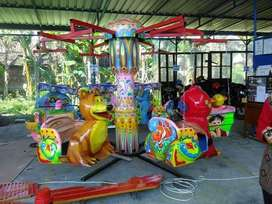 Fn Komedi putar gantung safari Odong odong paket usaha pasar malam