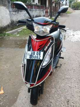2015TVS STREEK100/BRAND NEW CONDITION/ 1St Owner Bengali LADIES/DUMDUM