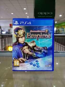 BD PS4 Dynasty Warriors 8 Empires . game cd kaset dynasti warrior ps 4