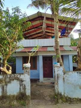 House at Pallimukk Junction, Kollam. Just 200 metre from Junction.