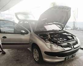 Dijual mobil rawatan Peugeot 206